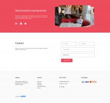 CloudBudget contact webpage