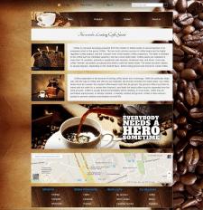 Сайт для продажи кофе