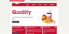 Сайт небольшого ресторана в Англии
