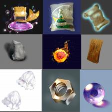 Объекты или иконки для игр