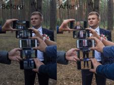 Цветокоррекция и легкая обработка фото