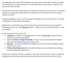 Копирайт ENG. описание апартаментов