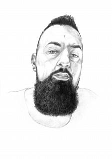 портрет,карандаш