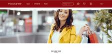 Адаптивная вёрстка интернет-магазина FestaVR