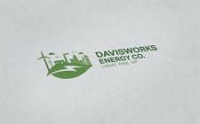 Логотип для альтернативной энергетики (эко)
