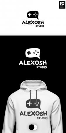 """Разработка логотипа для """"Alexosh"""" (Игровая студия)"""