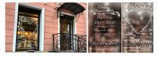 """Дизайн витрины свадебного салона """"Lovestorystore"""""""