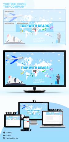 Презентация оформления Ютуб канала по туризму