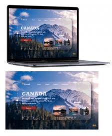 Главный экран Canada