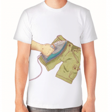 """Принт на футболку для кинофестиваля """"Шорты"""""""