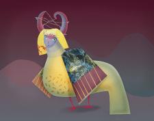 Мифическая птица 1