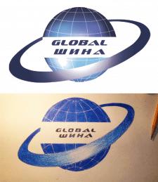 Обрисовка лого в векторе с картинки