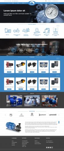 Дизайн интернет магазина электротехники