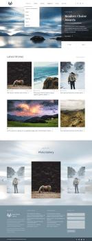 Дизайн главной страницы блога