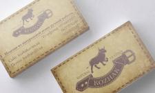 Визитка для магазина KOZHAK
