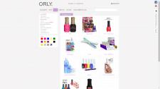 Корпоративный сайт ORLY Beauty (Germany)