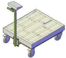Мобільна вага-візок