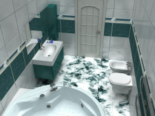ванная1 (программа: 3D Max)