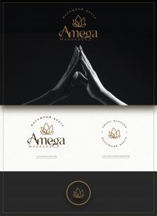 Логотип для Массажного центра AMEGA Massage