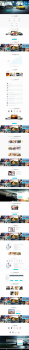 Верстка и натяжка огромного лендинга Wordpress