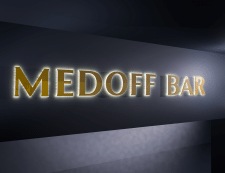 MEDOFF (Визуализация освещения вывески)
