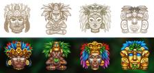 Символы Майя 3