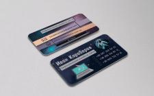 Дизайн визитки для веб-разработчика (продаётся)