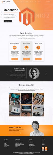 Редизайн сайта | Magento
