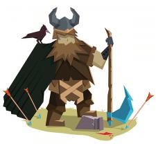 Flat Viking