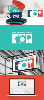 Логотип магазина посуды