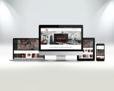 Корпоративный сайт для салона красоты