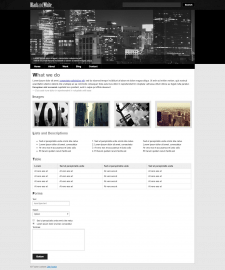 free theme page layout