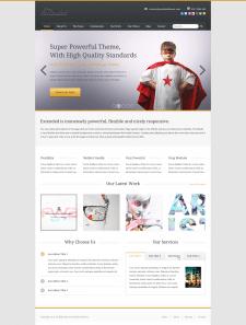 WordPress верстка и программирование сайта
