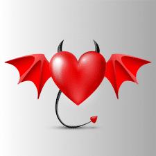 Сердце. Векторная графика для стоков