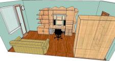 Сборка мебели в PRO100