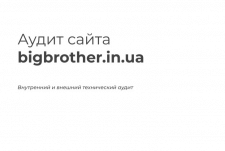SEO-аудит bigbrother.in.ua