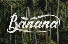 Леттеринг Banana