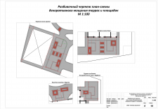 Схема мощения площадок и террас г. Солнечногорск