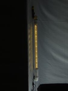 Лампа из труб фото 3