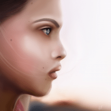 Портрет Adobe Photoshop