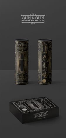 Дизайн подарочной упаковки Olin & Olin
