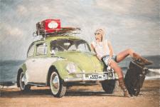 Двушка и автомобиль