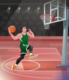 Sport illustration - 1