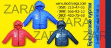 "Куртки zara, баннер для магазина ""Модняга"""