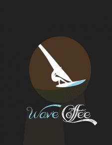 Логотип Кофе для печати 3