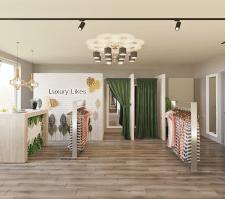 Дизайн-проект магазина купальников