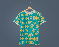 Фирменная футболка / дизайн формы / паттерн