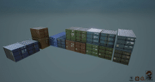 Container pack