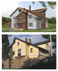 Дом в Ясногородке