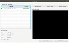 Linux app to interact with mobile devices